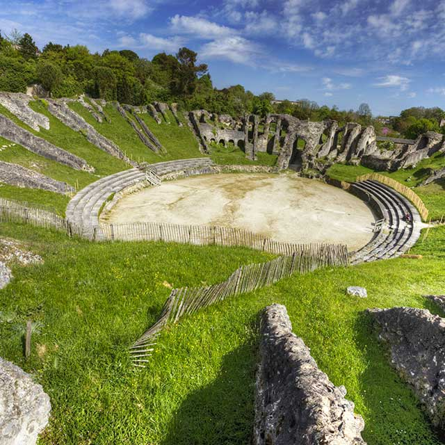 The amphitheatre of Saintes